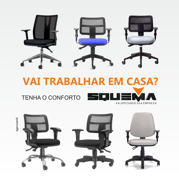 Cadeiras para Home Office